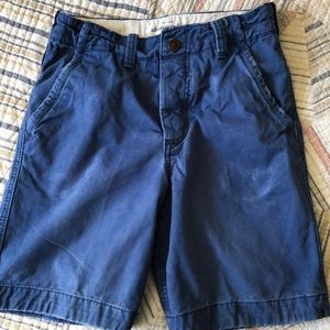 Abercrombie Boys Blue shorts Size 14